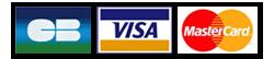 Sichere Zahlungsmethoden: Kreditkarte, Visa, Mastercard